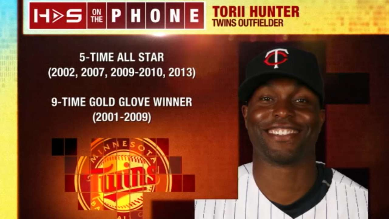 Hot Stove: Torii Hunter