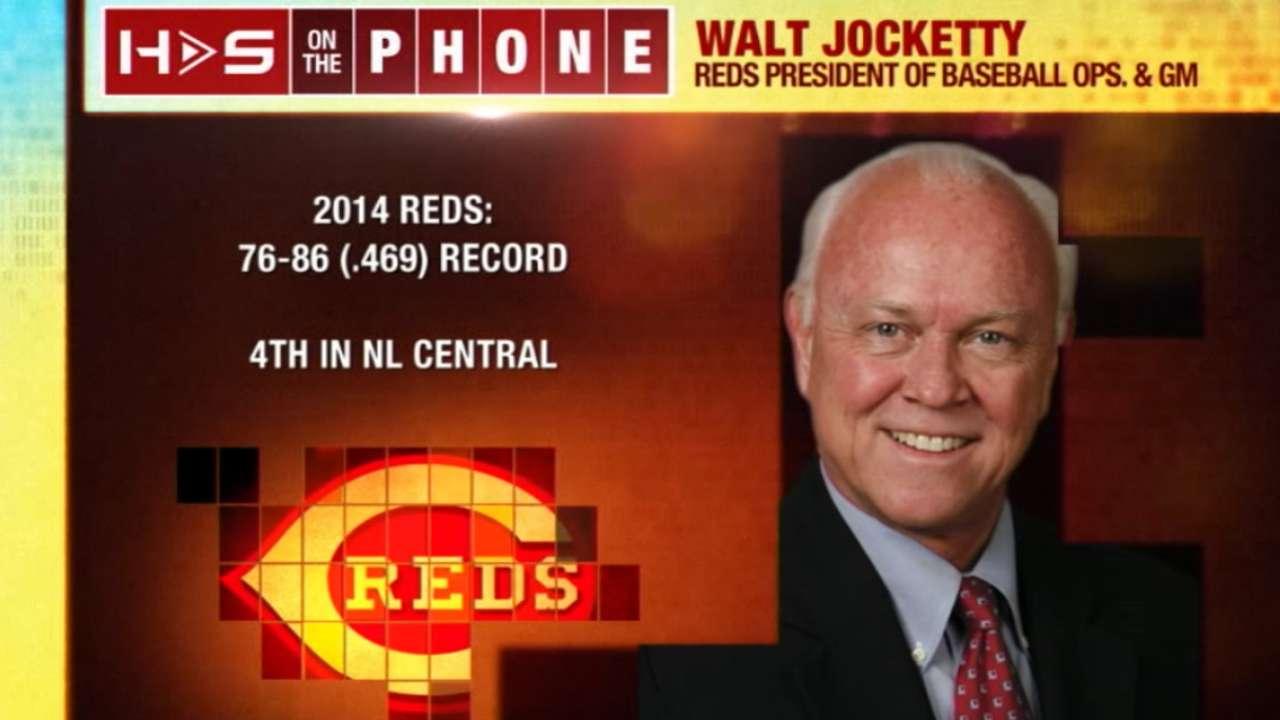 Hot Stove: Reds GM Jocketty
