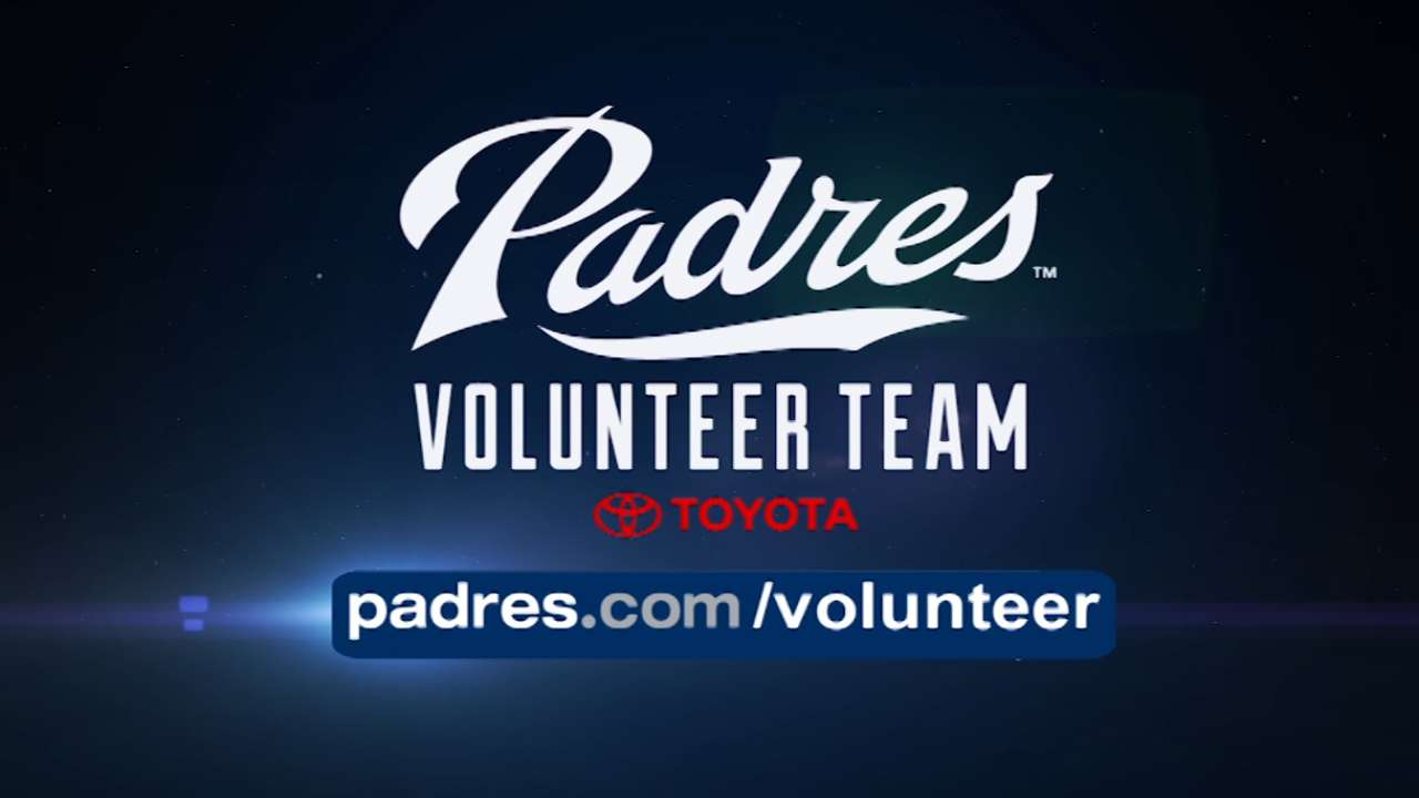 Padres Volunteer Team