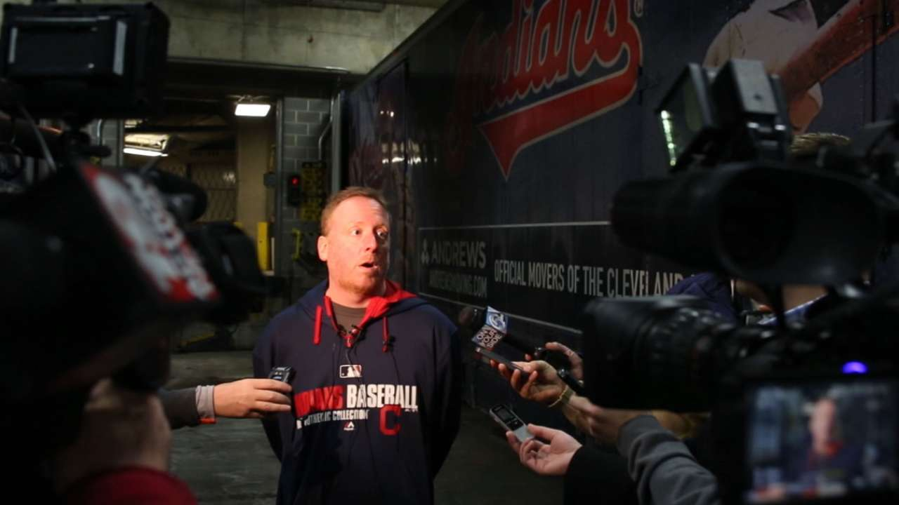 Truck Day gives Indians fans a sign of spring