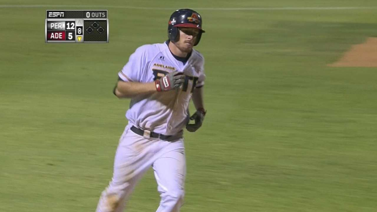 Dening's second solo homer