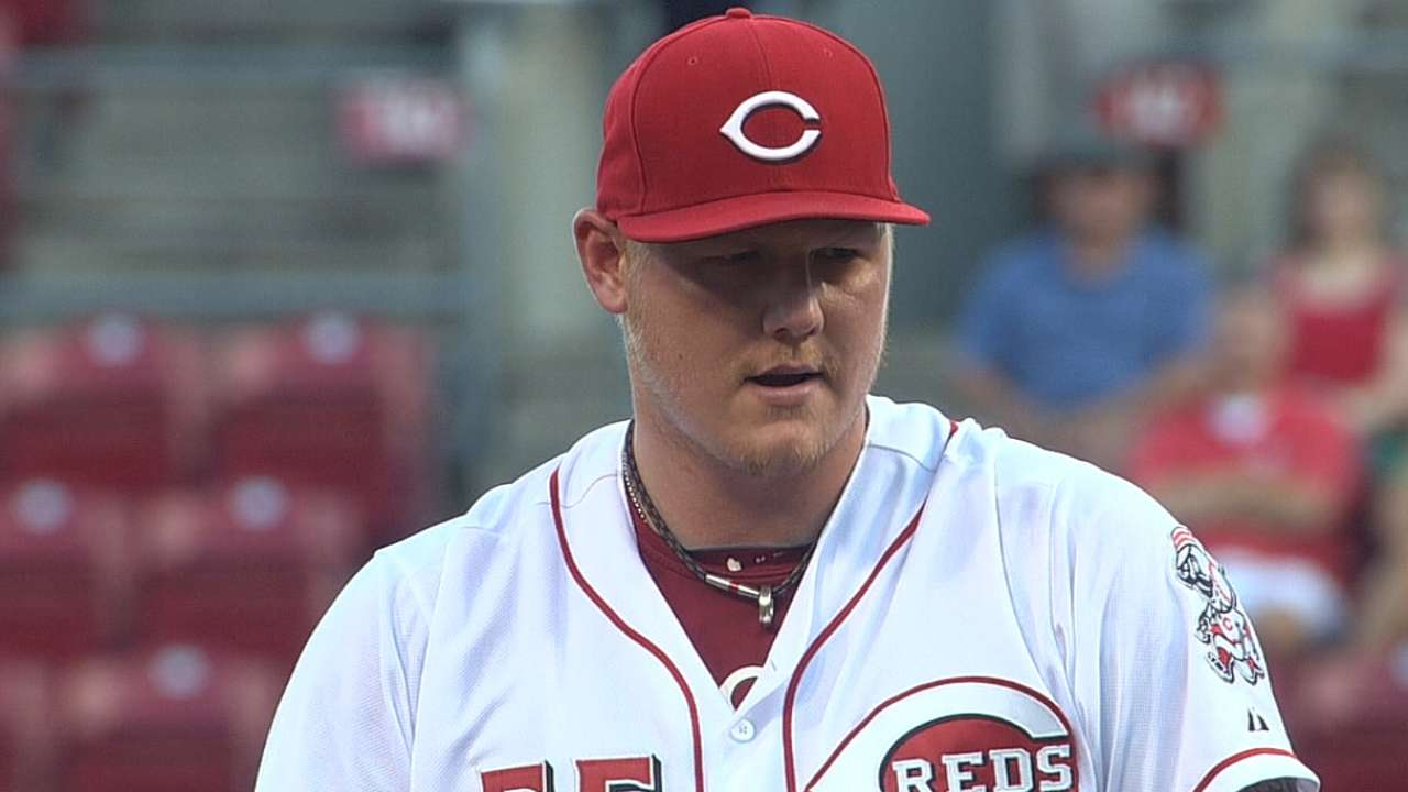 Latos optimistic after successful simulated game