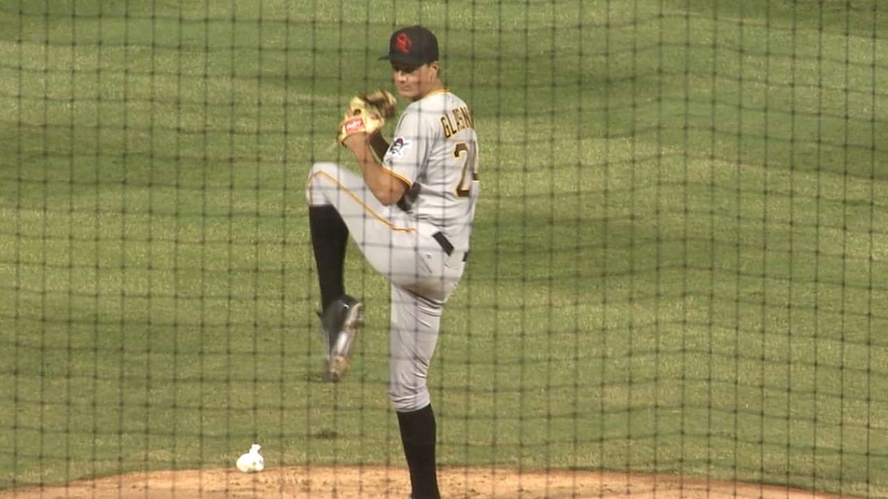Glasnow impressing Bucs with his work in camp