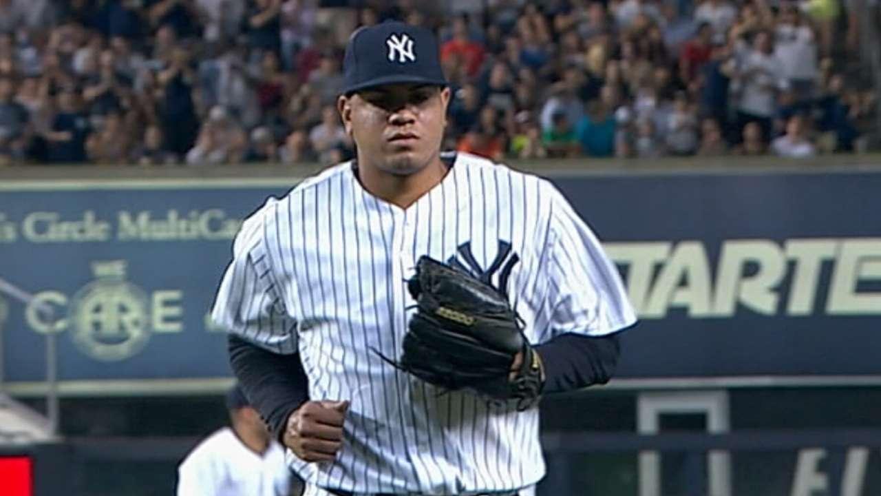 Yankees' closer candidates shut down Nationals