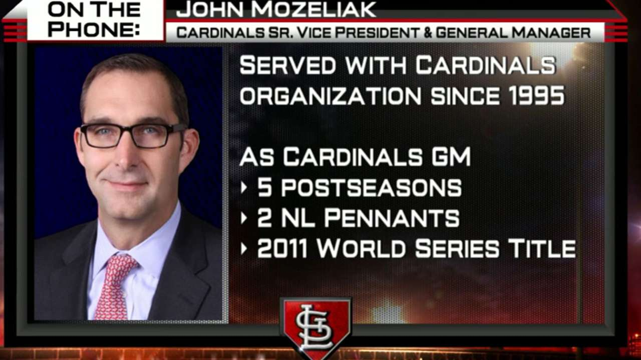 John Mozeliak chats with MLB Now