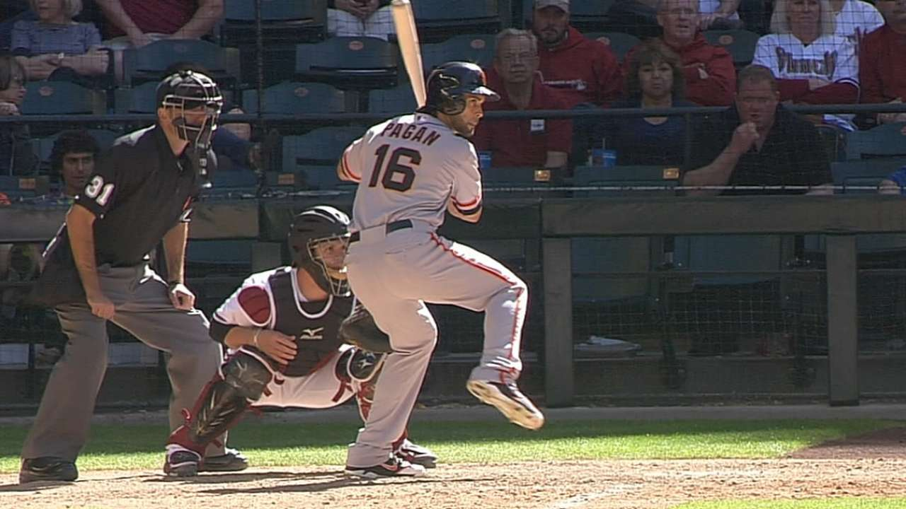 Pagan receives injection for ailing back