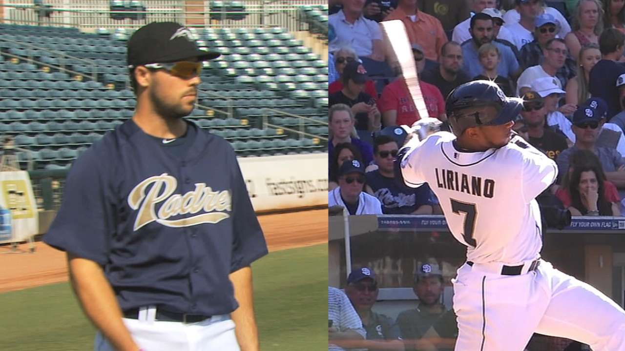 Young Padres poised to help the club in 2015