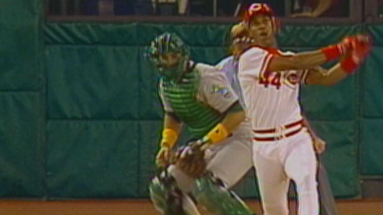 on sale f06a7 4e495 Megan Zahneis: Eric Davis showed toughness for Reds, in ...