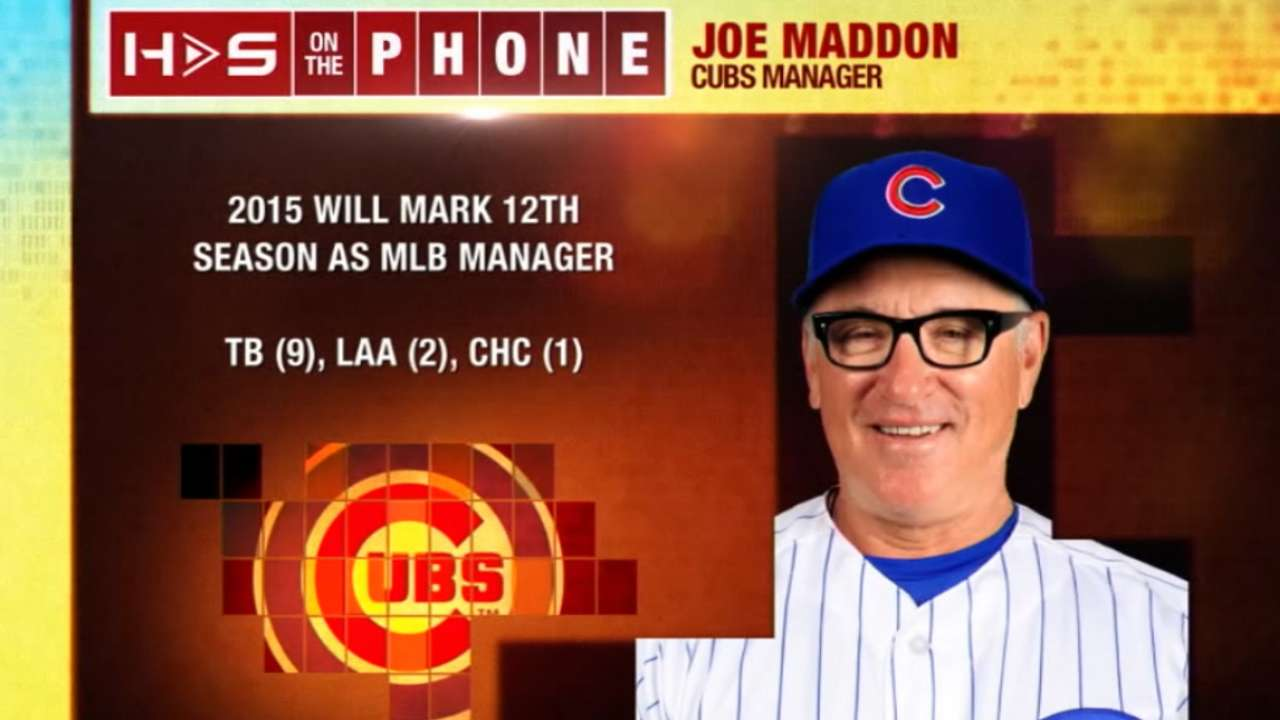 Hot Stove: Joe Maddon