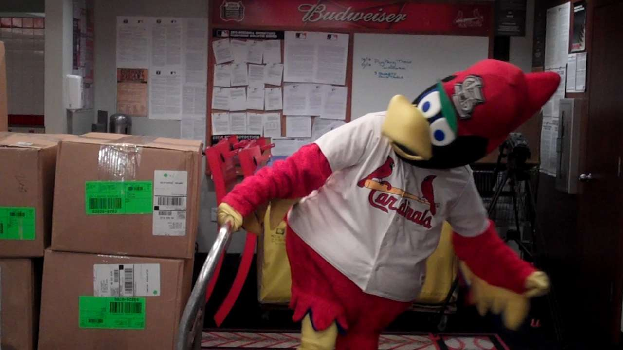 Cardinals pack with spring in step on Truck Day