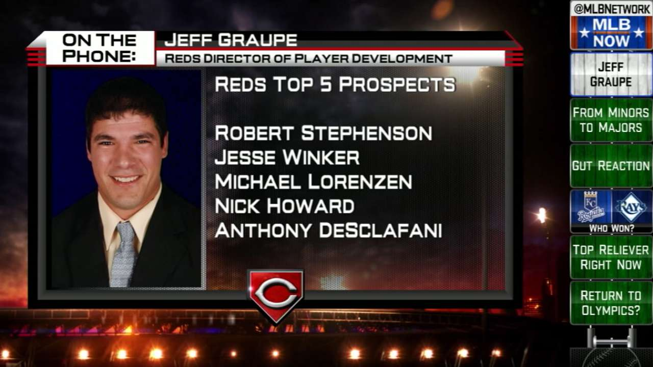 Jeff Graupe joins MLB Now