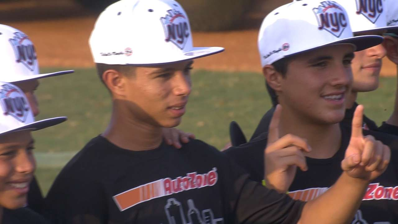 Youth baseball paves way for Major Leaguers