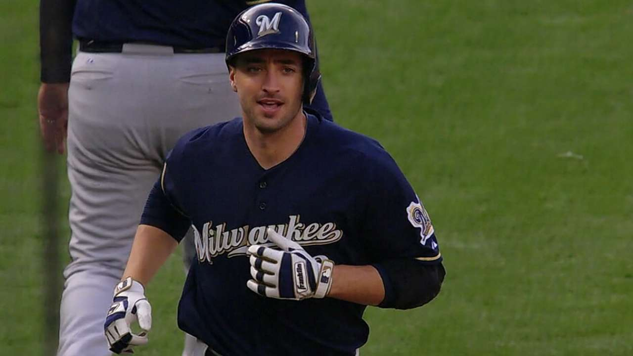 Brewers to turn page on 2014 at opening of camp