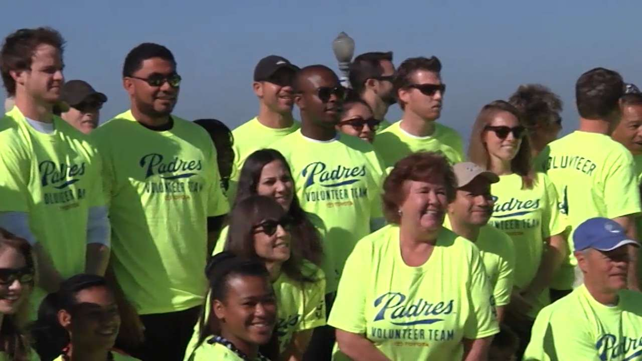 Join the Padres Volunteer Team