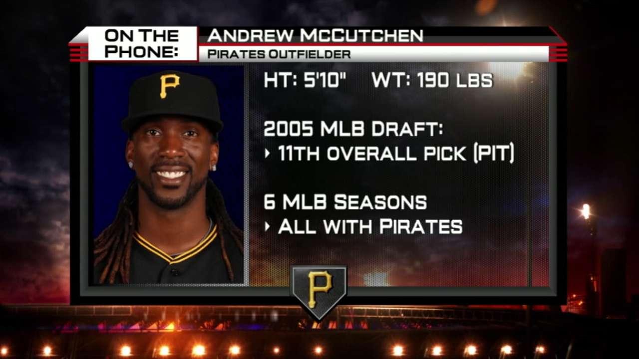 McCutchen talks Pirates in 2015