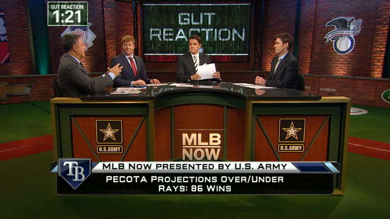 MLB Now crew sounds off on PECOTA Projections