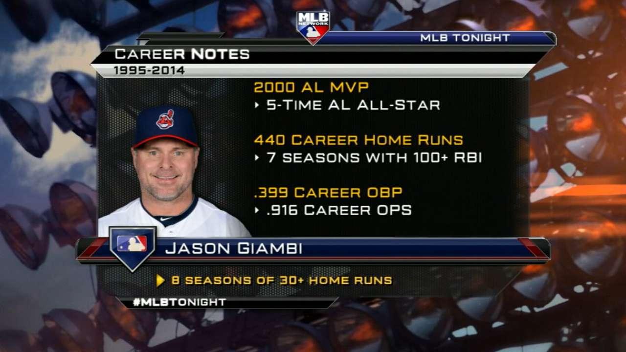 MLB Tonight: Giambi's retirement