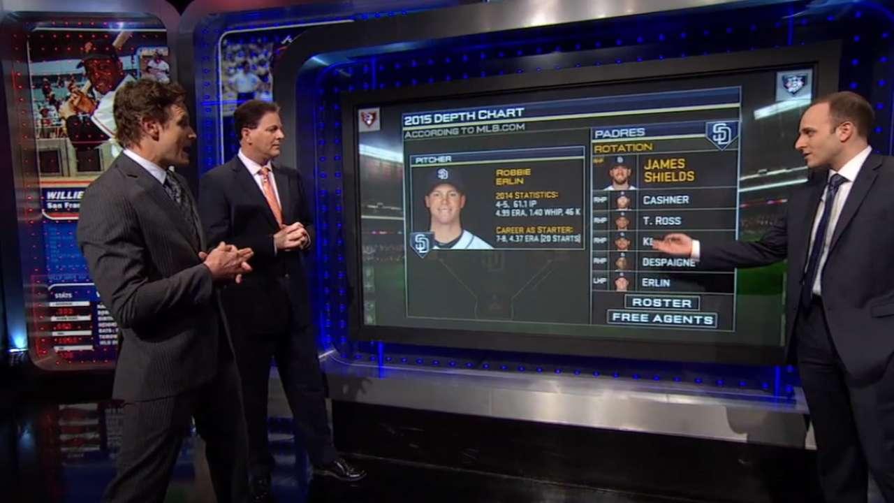MLB Tonight: Position Battles