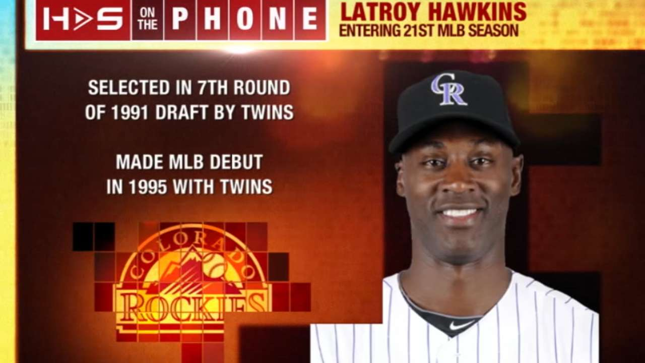 LaTroy Hawkins on Hot Stove