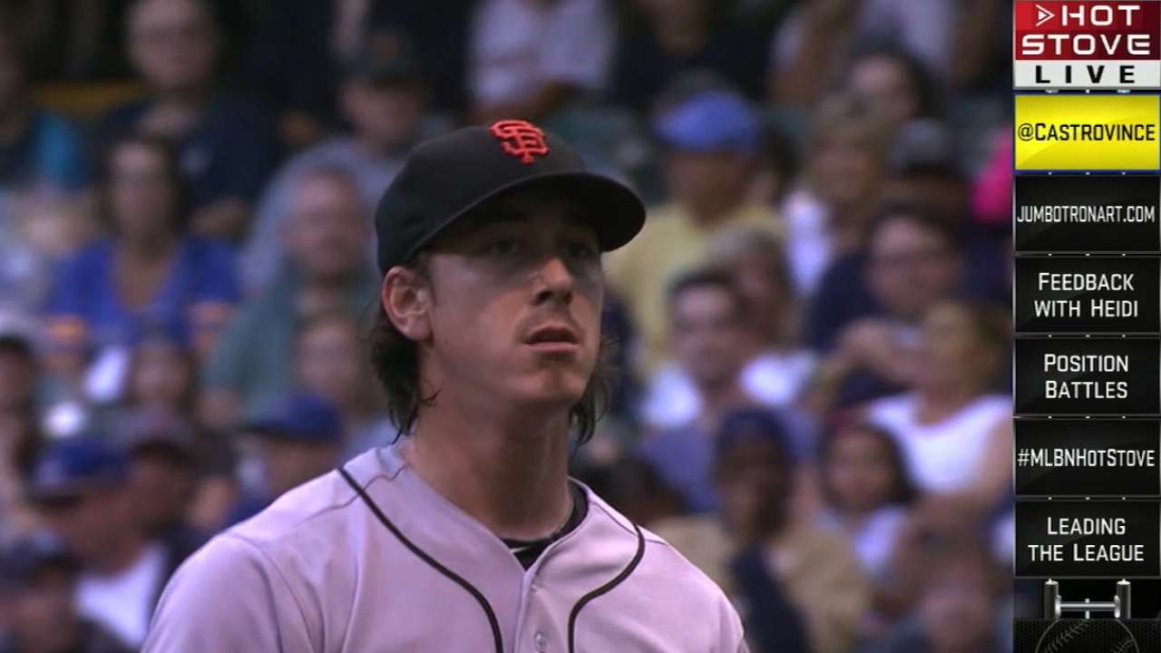 Lincecum gets positive reviews after throwing