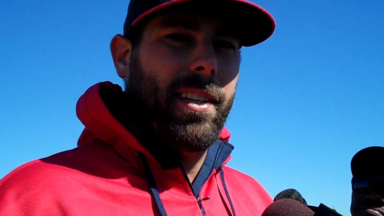 Gonzales makes first pitch for big league job