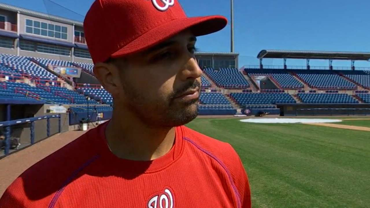 Gonzalez on Nationals rotation