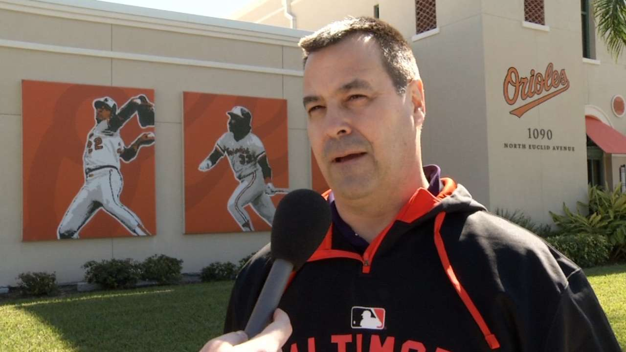 Duquette's focus remains on building the Orioles