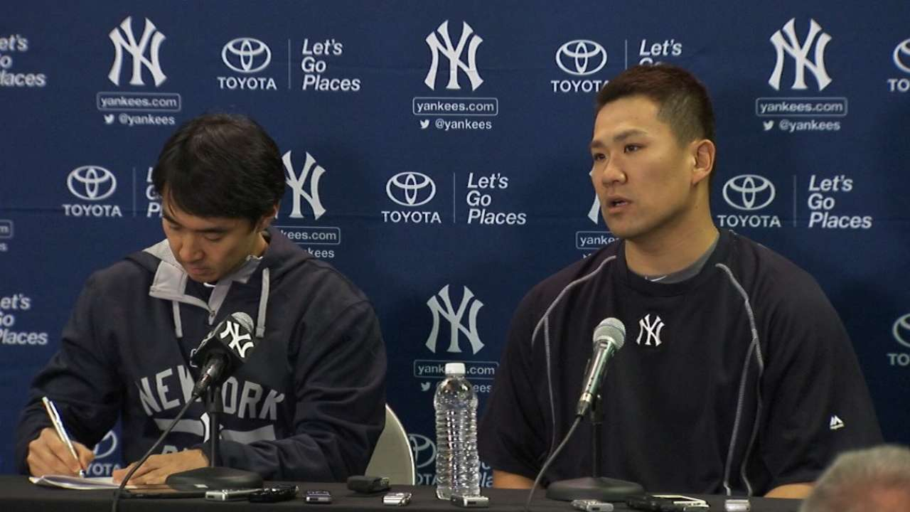 Tanaka well prepared for 2015