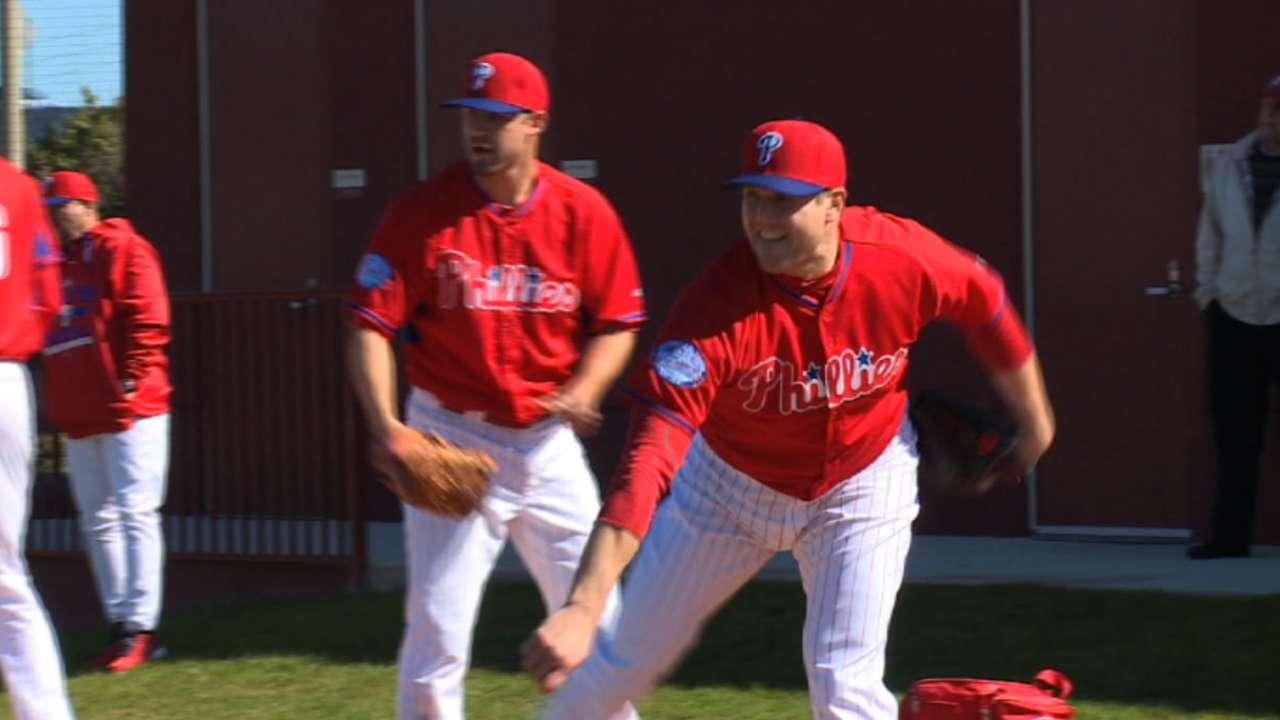 Battle looming for spots in Phils' bullpen