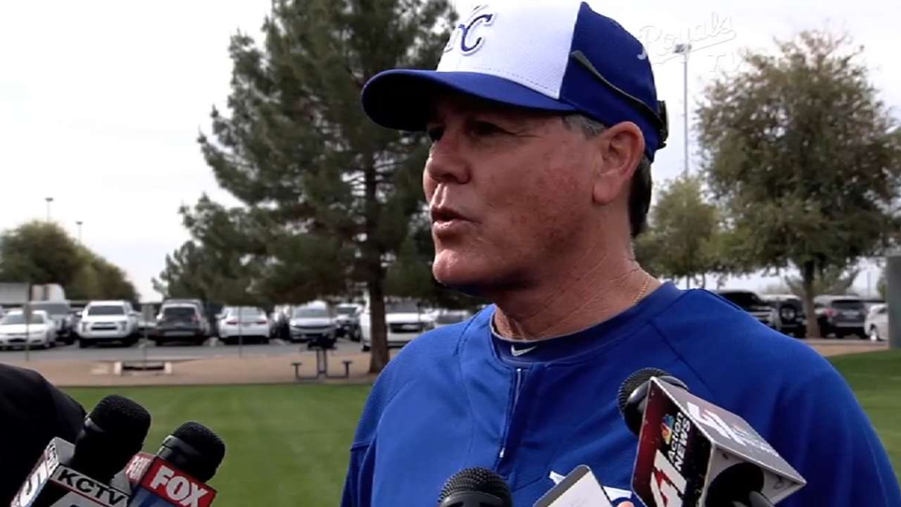 Cain, Royals support pace of game initiatives