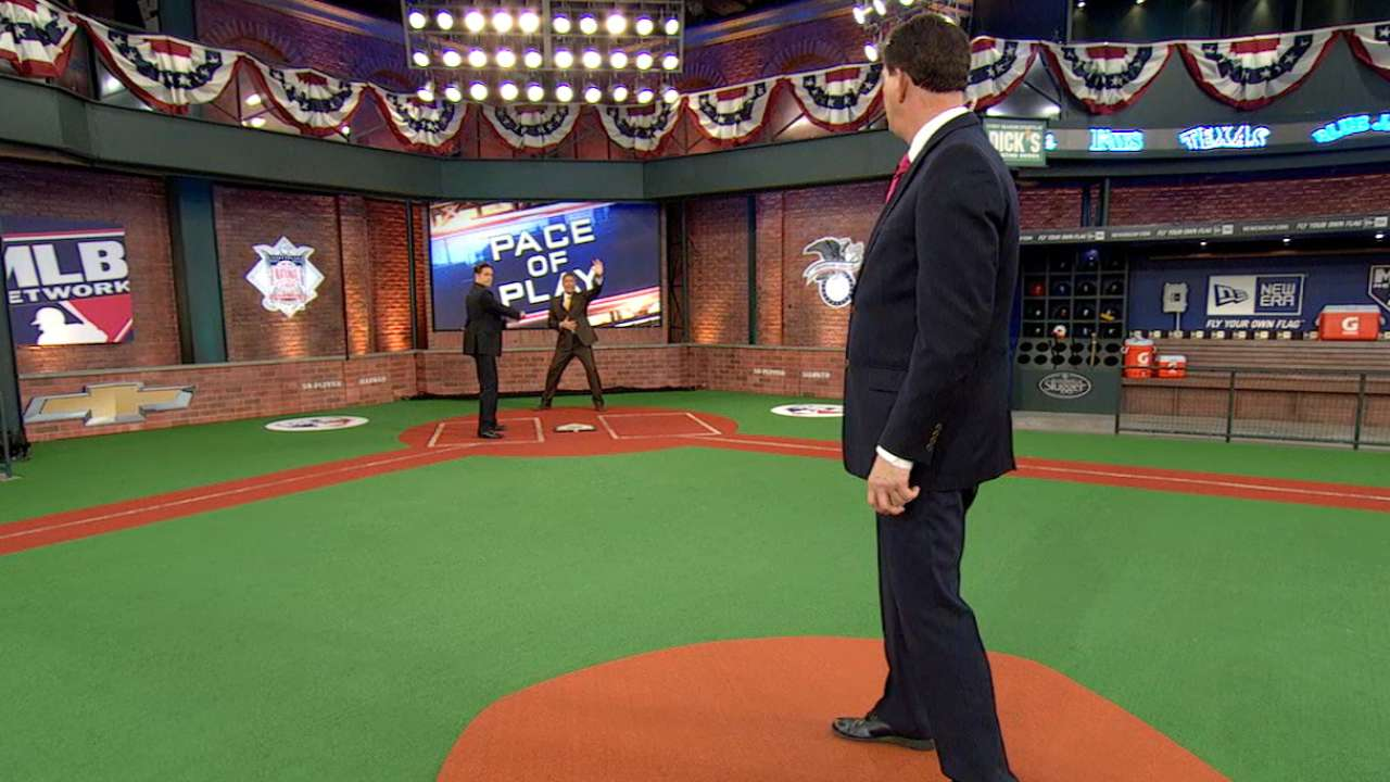 MLB Tonight puts pace of game rules to the test