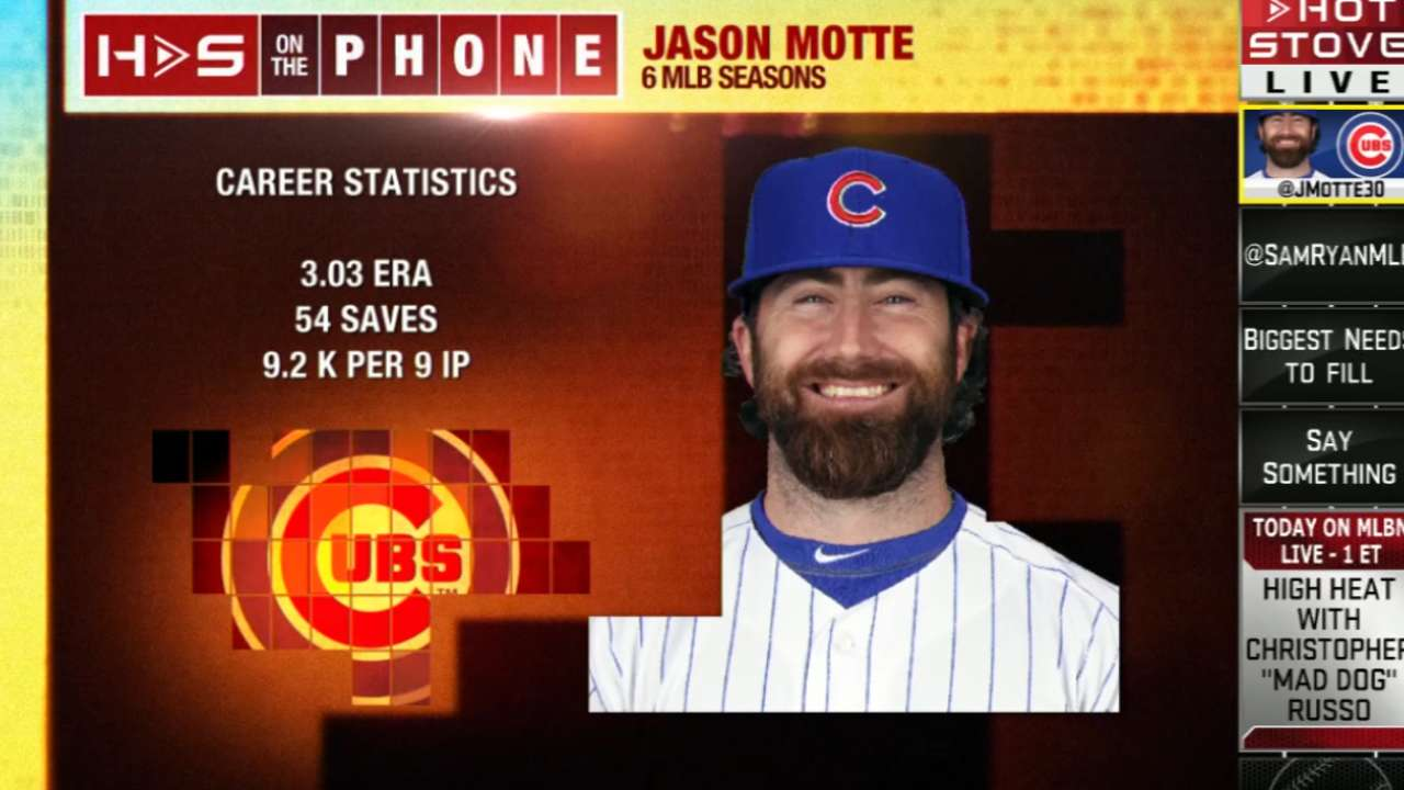 Former Cards Motte, Chambers see other side of Cubs rivalry