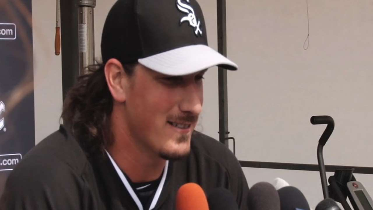 Shark excited for White Sox camp