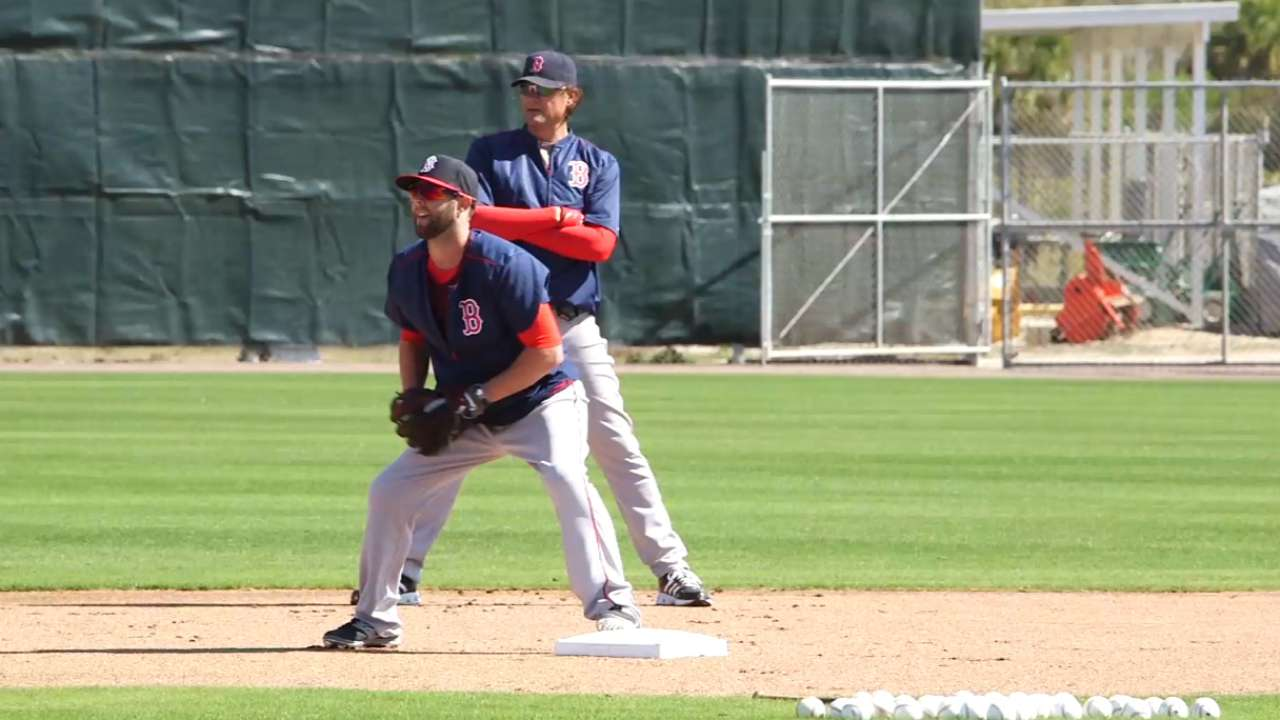 Pedroia begins camp with a purpose