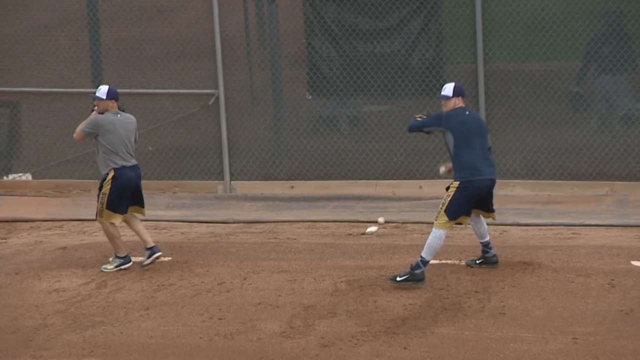 Melvin defends Brewers' offseason moves