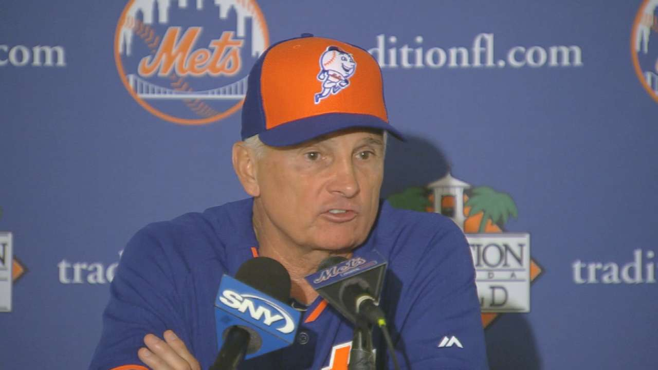 Mets want to turn talk into results