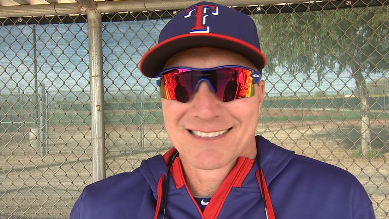 Banister emotionally ready for first workout as manager