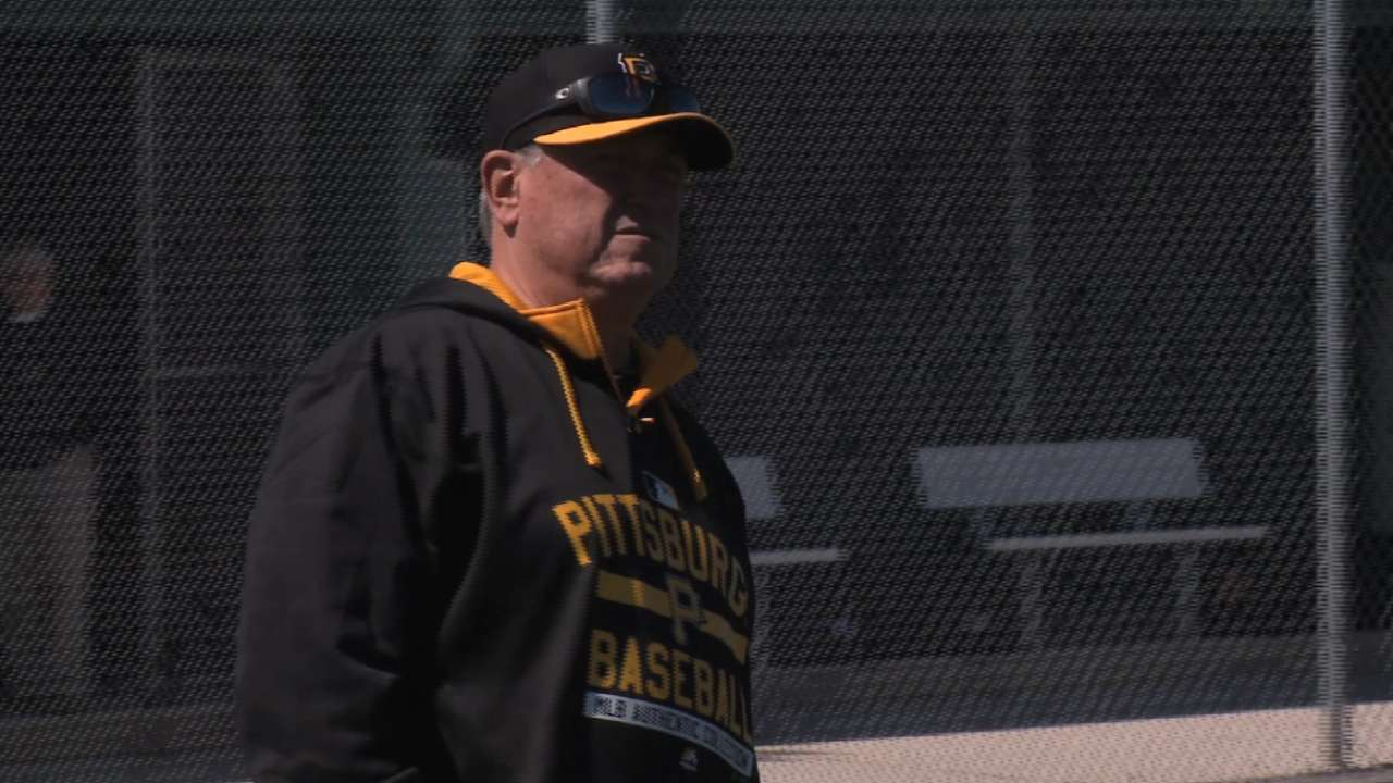 Hurdle on Pirates' start of camp