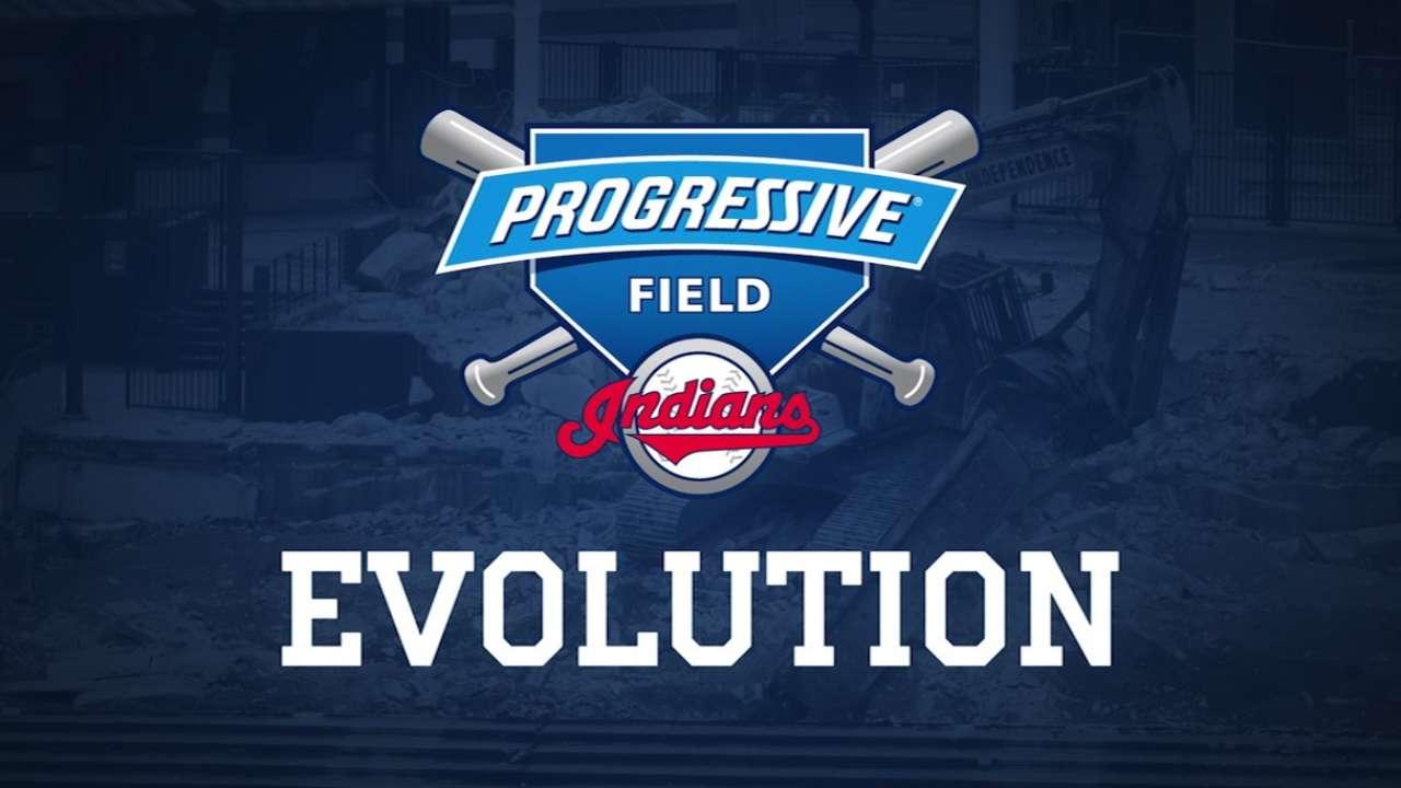 Progressive Field renovations unveiled at opener