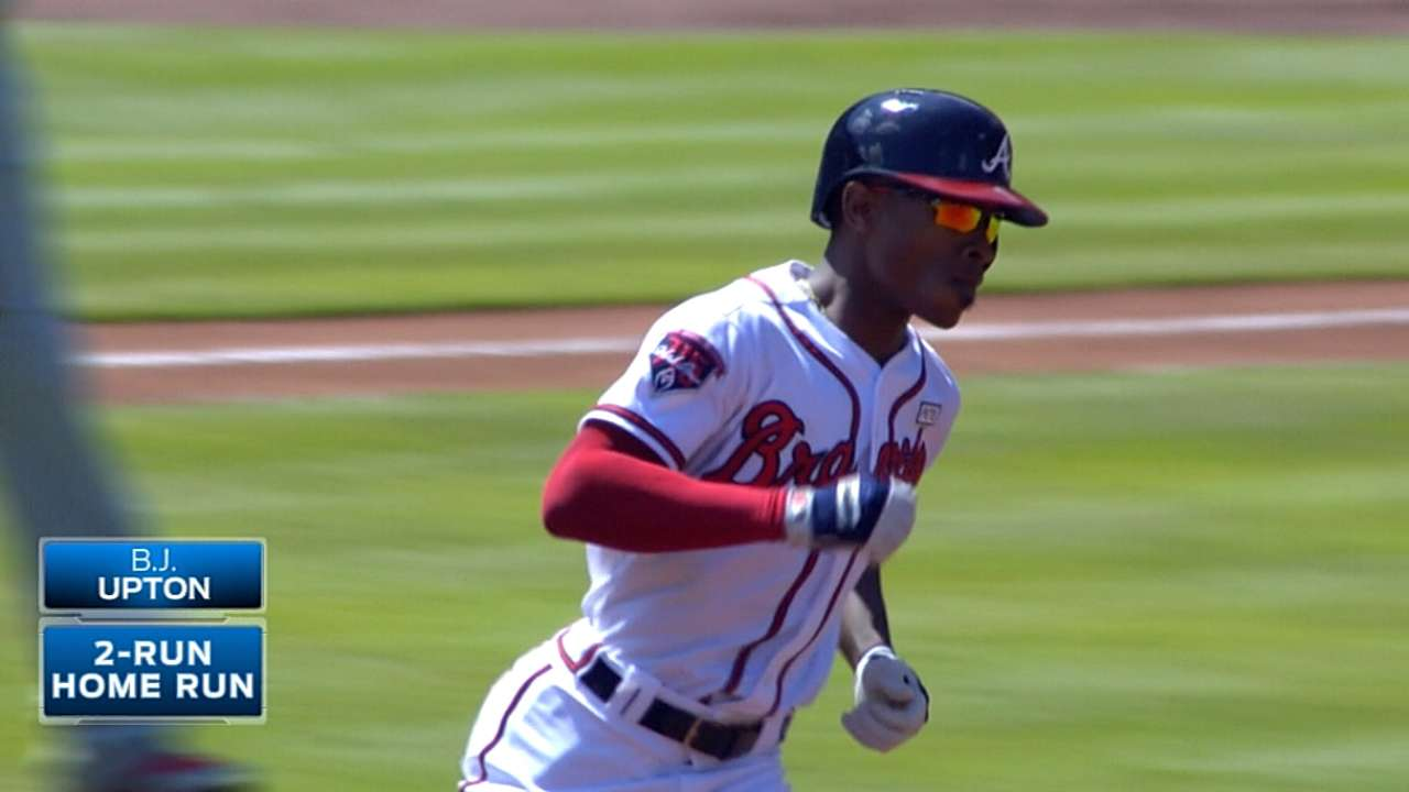 Seitzer on Upton Jr. in 2015