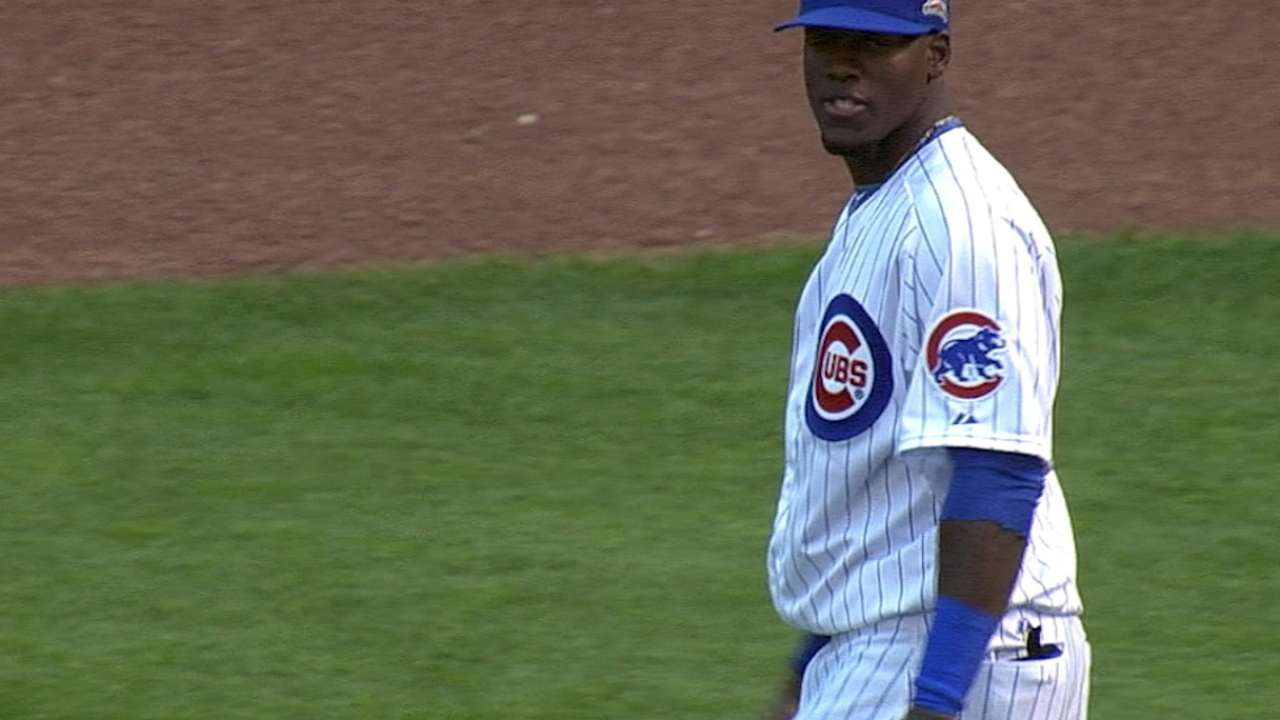 Cubs were ahead of the game on Soler
