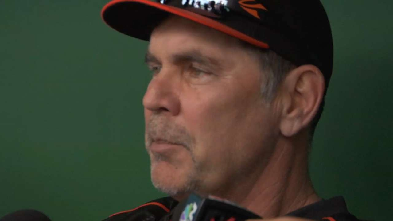 Bochy returns to Giants
