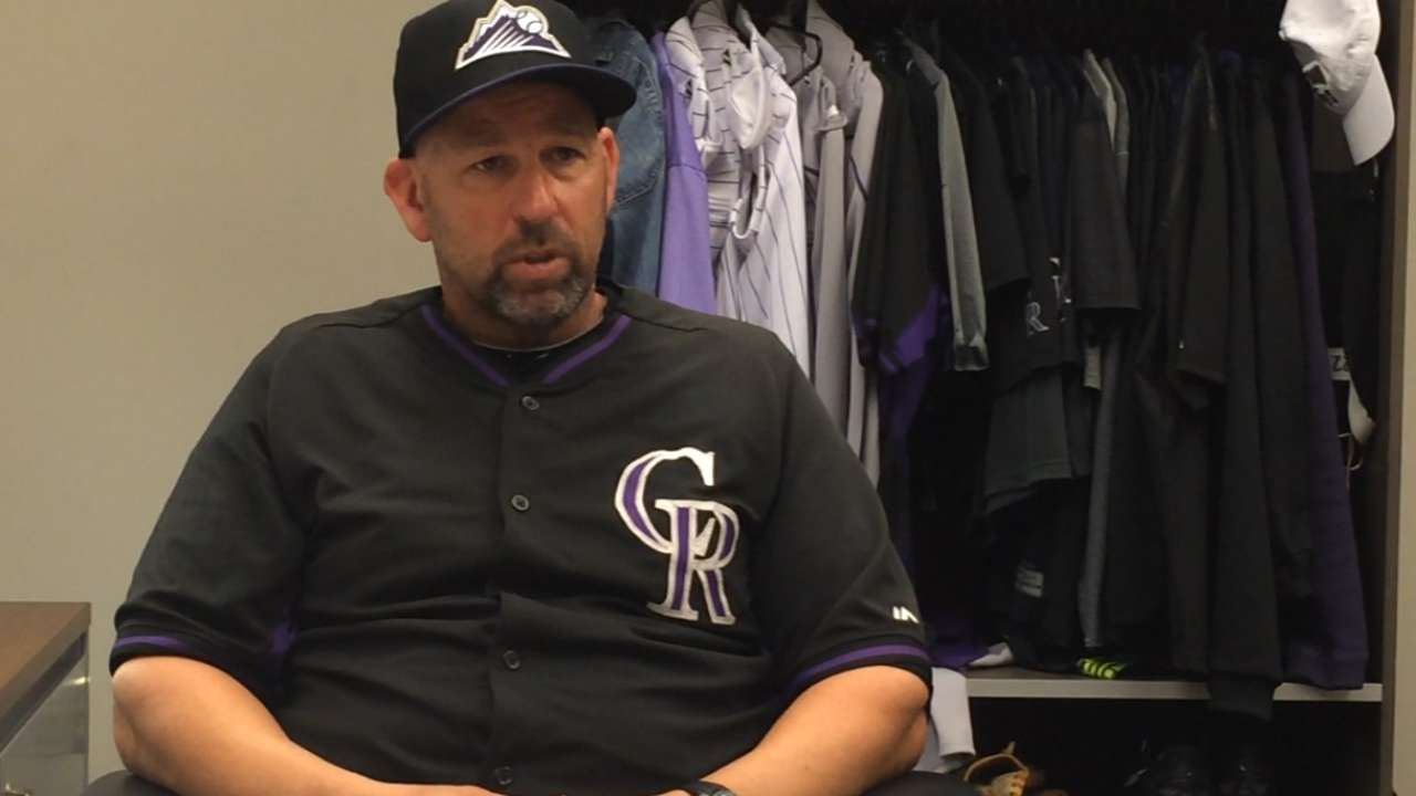 Rockies could be looking at four-man bench