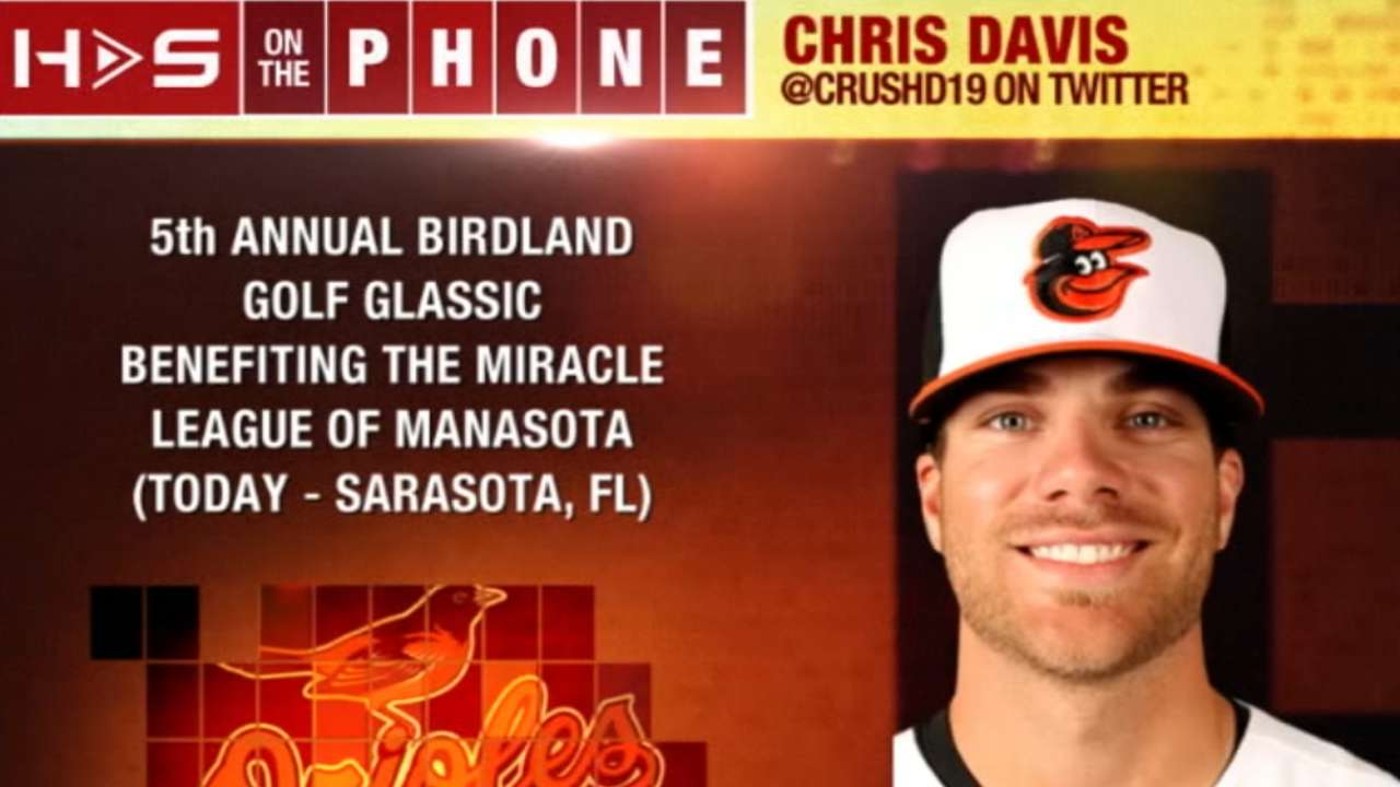 Chris Davis chats with Hot Stove