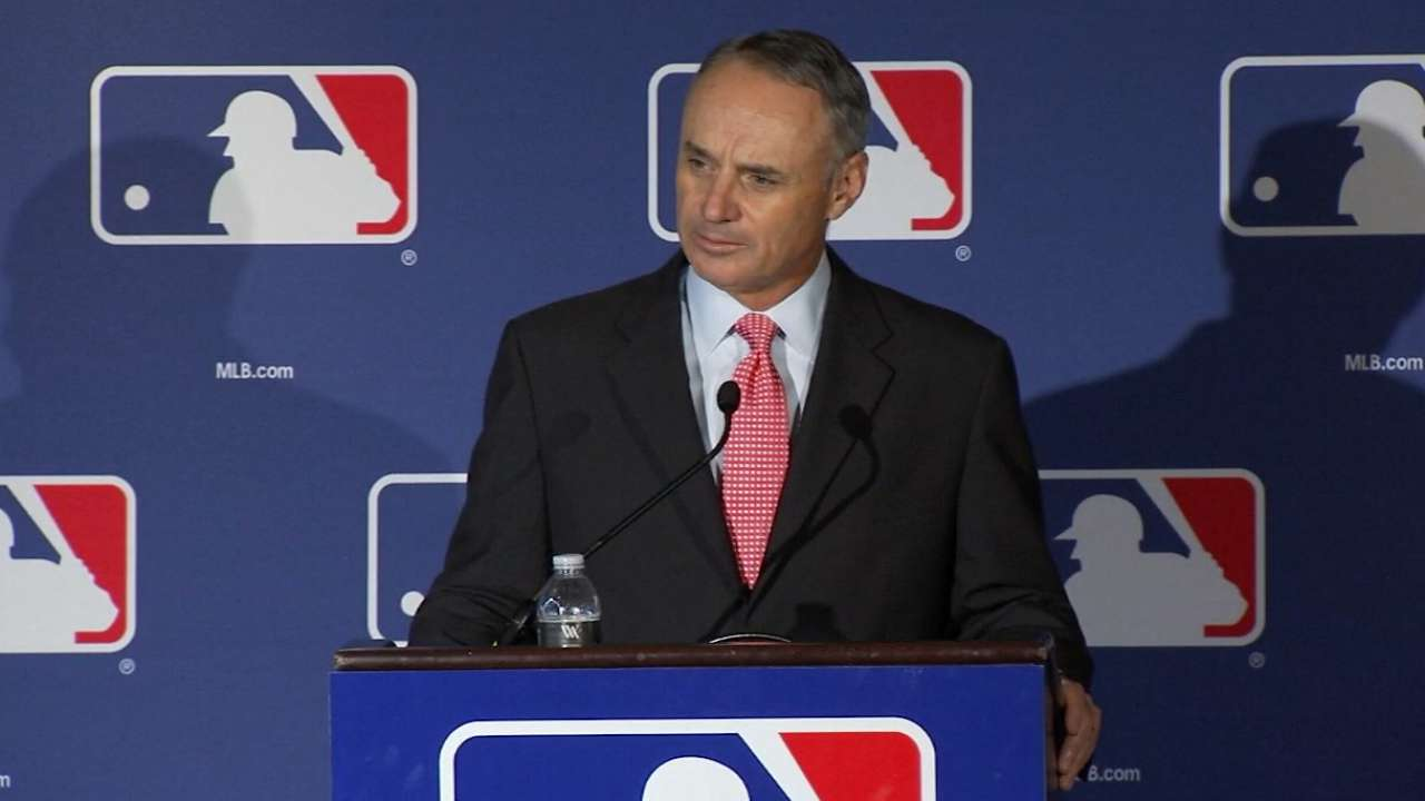Manfred on pace-of-game changes