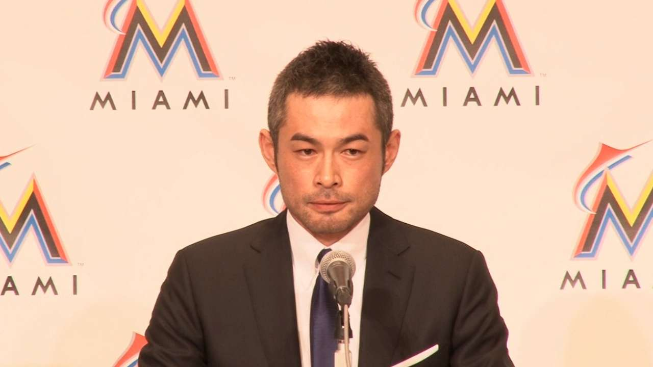 Ichiro's philosophy on his age