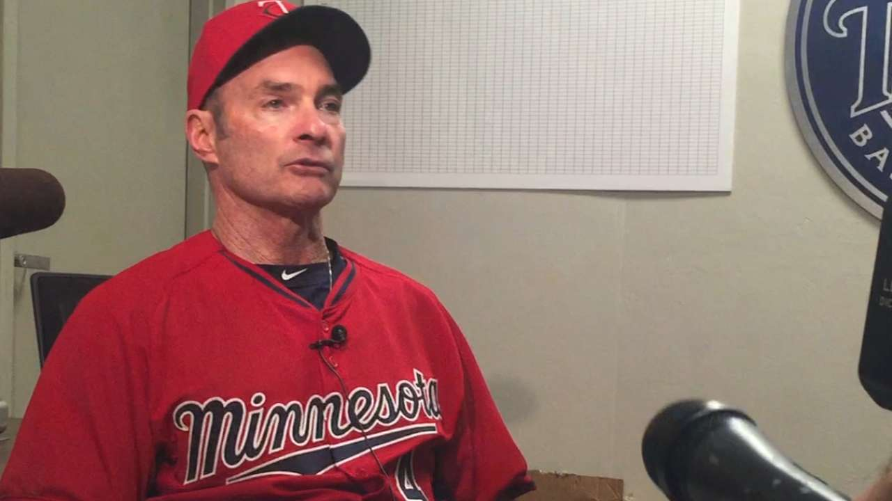 On first day of workouts, Molitor lays out new spring plan