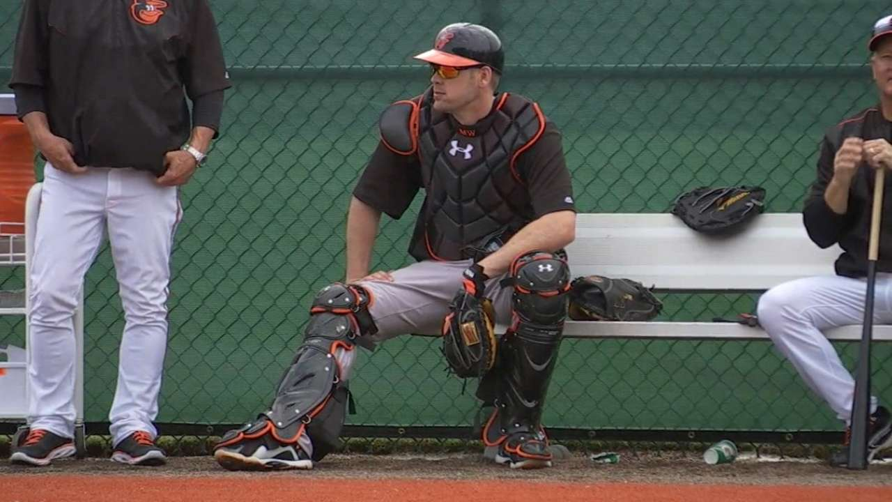 Wieters gives health update