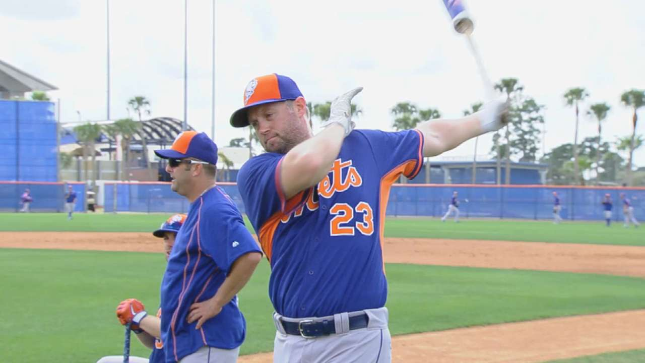 Cuddyer finds fit with Mets, isn't worried about transition