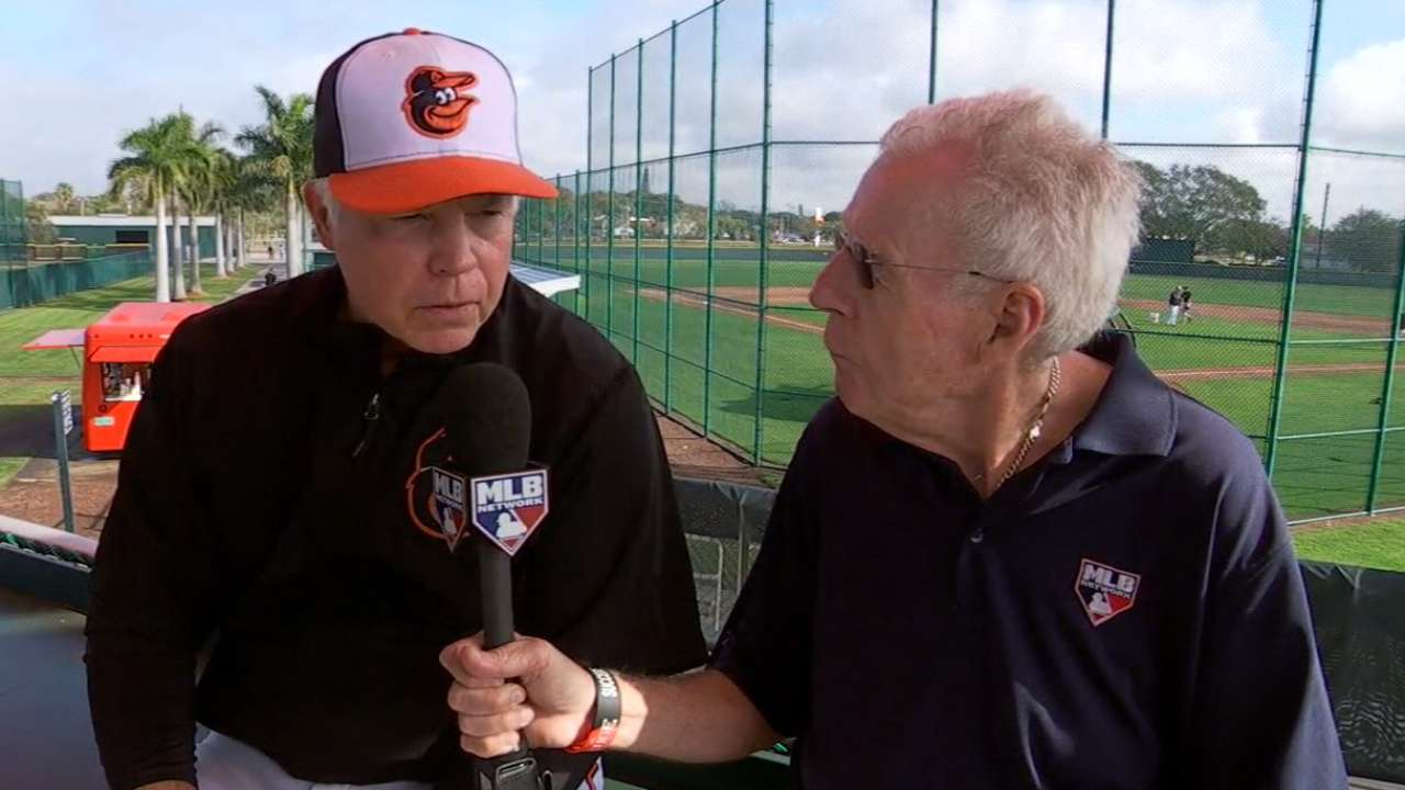 PR director remembered by Orioles in camp